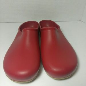 Sloggers Slip on Flats Red Size 9